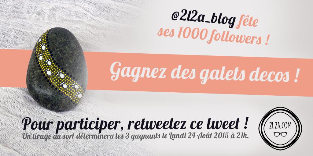 [CONCOURS] 1000 followers Twitter, ça se fête
