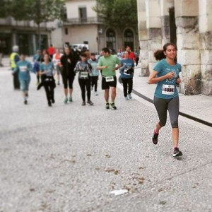 My first race Proud of me nimes 5km running justdidithellip