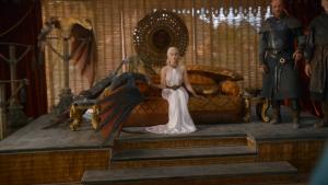 La robe et les dragons : Dany impose le respect